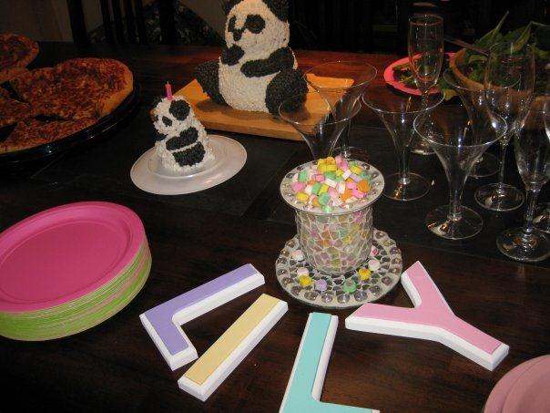 Terrific Panda Bear Birthday Cake Elizabeth Spencers Event Compass Funny Birthday Cards Online Inifofree Goldxyz